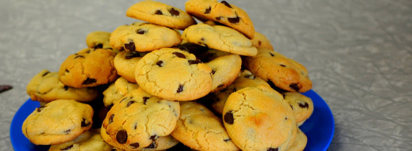 From The O/U:  Mrs. Fields Famous Cookies (TCBY)
